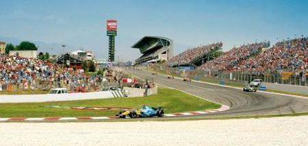 Los horarios del Gran Premio de España