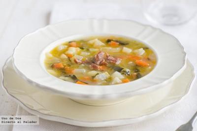 Cinco recetas de sopas nutritivas para esta temporada