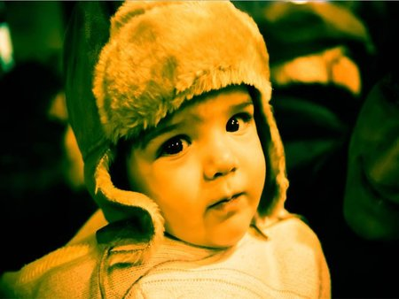 La foto de tu bebé: Pau ilusionado