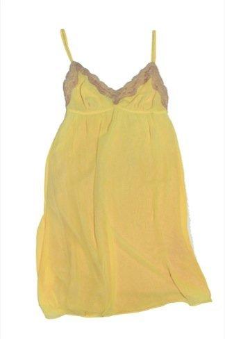 Oysho top amarillo