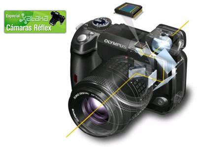 Otras tecnologías en las réflex digitales: El live view o visión en vivo