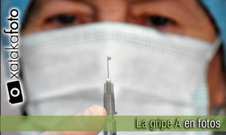 La gripe A en fotos