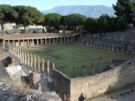 Cuartel de los gladiadores de Pompeya. Tus fotos de viaje