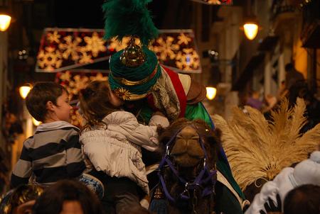 Mágia y tradición se dan la mano en la Cabalgata de Reyes más antigua de Europa