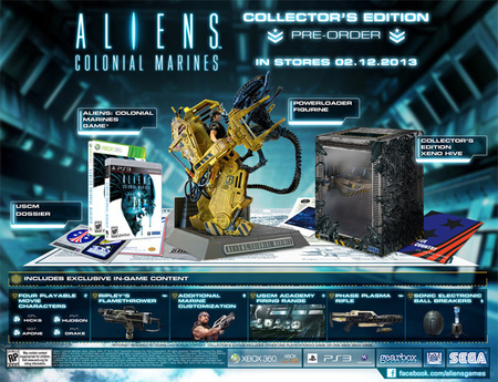 Alien Colonial Marines Collector