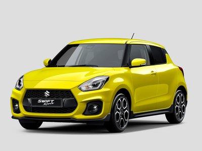 El Suzuki Swift Sport 2018 anticipa su lanzamiento con su primera imagen oficial