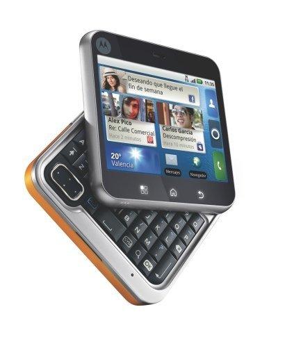 Motorola FlipOut naranja telcado