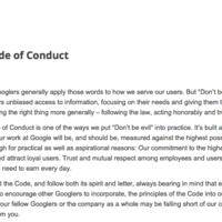 """Del """"Don't be evil"""" al """"Do the right thing"""", el código de conducta de Google evoluciona"""