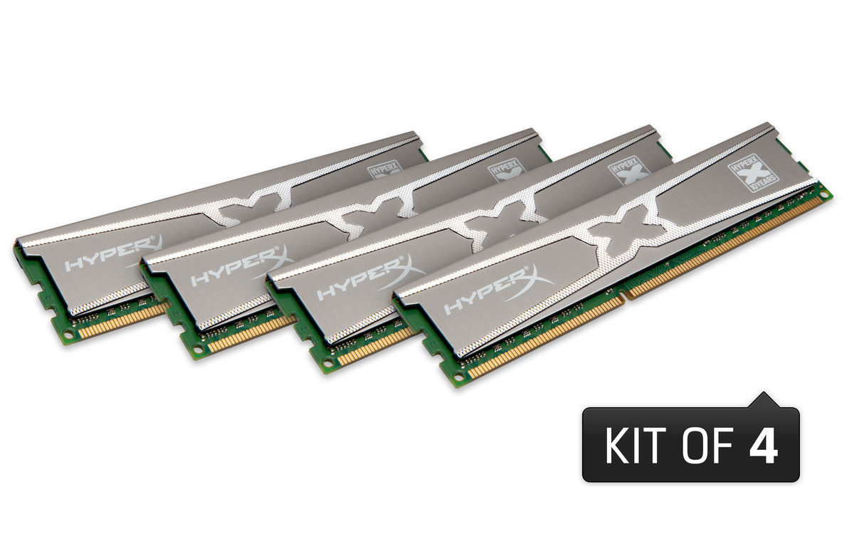 Foto de Kingston HyperX RAM 10th Year Anniversary Edition (2/4)
