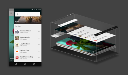 Feedly para Android recibe dosis de Material Design
