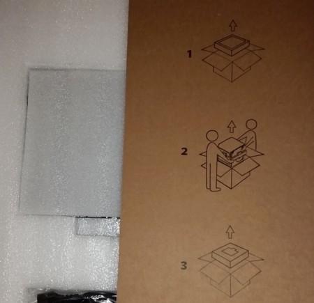 Instrucciones para sacar la impresora de la caja