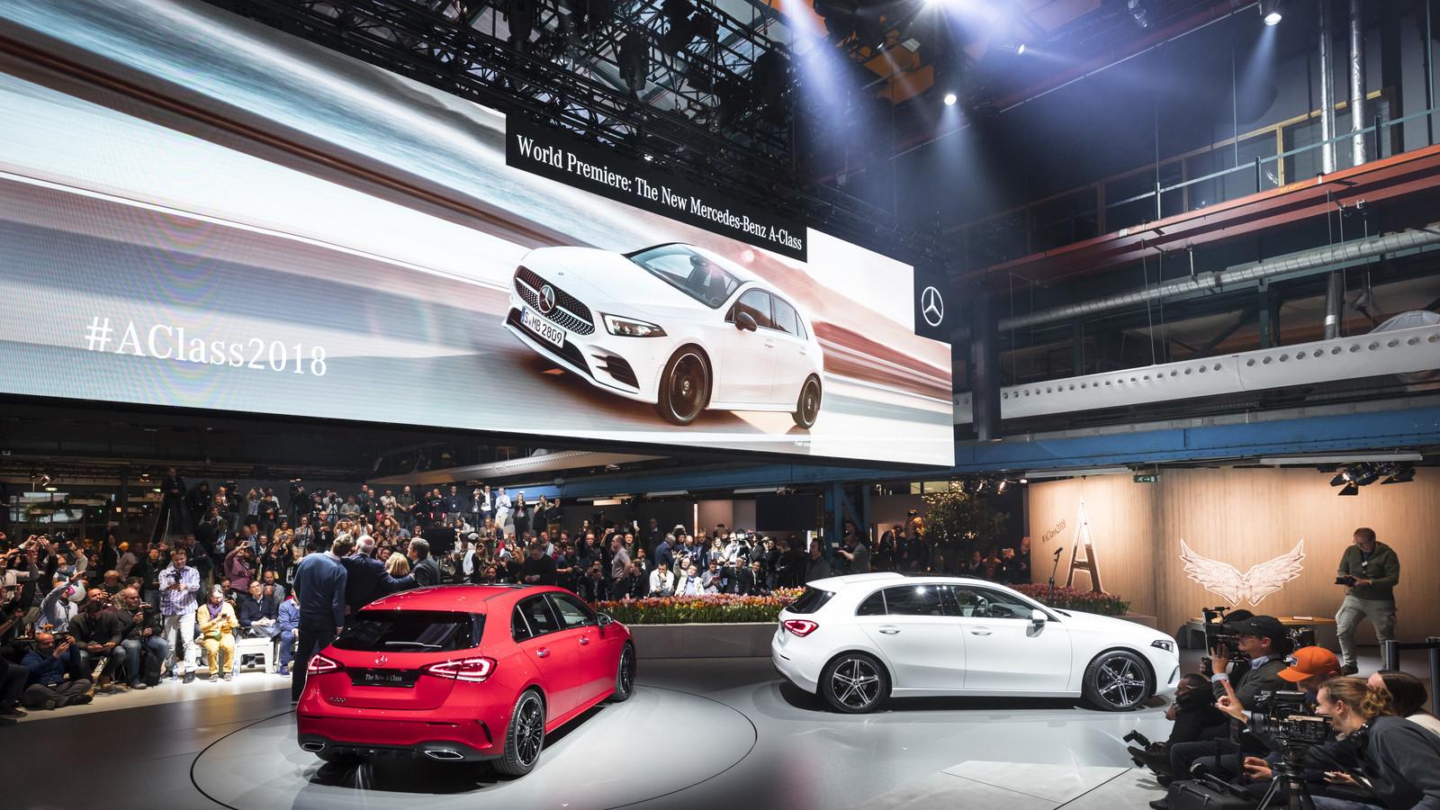 Foto de Mercedes-Benz Clase A 2018 - presentación (35/114)