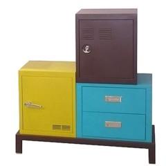 Foto 3 de 5 de la galería muebles-de-almacenaje-de-colores en Decoesfera