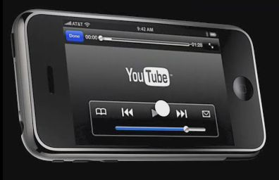 iPhone reproducirá vídeos de Youtube optimizados