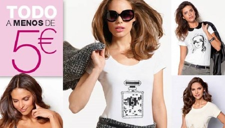 Venca oferta una selección de prendas por menos de 5 euros y descuentos de 'martes 13'