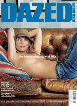 Kate Moss y Pete Doherty en Dazed & Confused