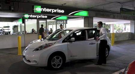 Nissan LEAF de alquiler