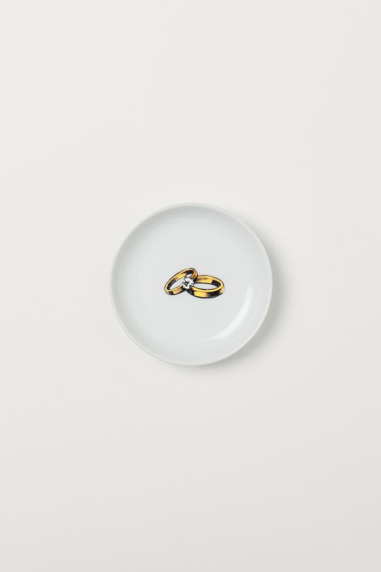 Jabonera de porcelana