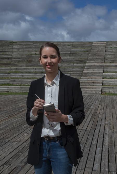 """Eva Gil, arquitecta: """"Lo bonito es que no hay referentes femeninos en Arquitectura, pero nosotras podemos construirlos"""""""