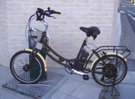 En Japón consideran que la carga inalámbrica también es para las bicis