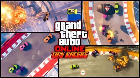 La alocadas carreras con coches en miniatura llegarán a GTA Online con su nuevo modo Tiny Racers