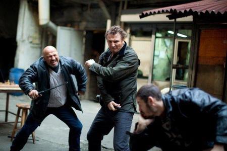 Imagen de Liam Neeson repartiendo estopa en