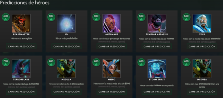Predicciones De Heroes