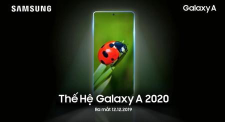 Los Samsung Galaxy A de 2020 se presentarían la semana que viene