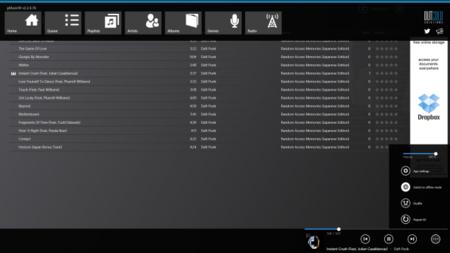 gMusicW para Modern UI