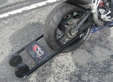 Wheelie Teach montado