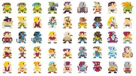 Imagen de la semana: 696 personajes en plan Super Mario Bros.