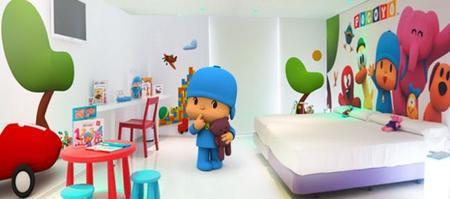 Habitación de Pocoyo - Hotel del juguete