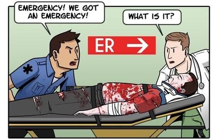 Imagen de la semana: la paradoja del hospital de 'GTA V'
