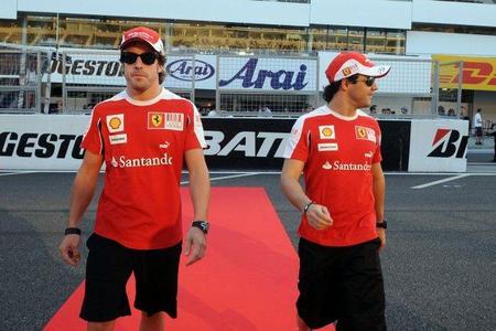 Fernando Alonso cuenta con Felipe Massa para el final de temporada