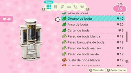 Animal Crossing New Horizons Guia Boda