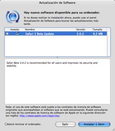 Actualizan Safari 3 beta: 3.0.2