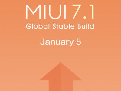Xiaomi lanzará mañana la versión 7.1 de MIUI para casi una docena de dispositivos