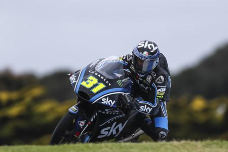 Celestino Vietti Moto3 Motogp Australia 2018