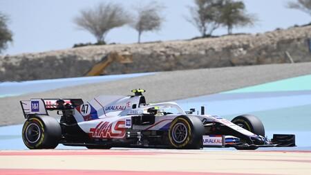 Schumacher Sakhir F1 2021
