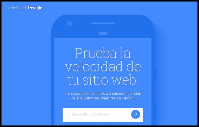 Prueba La Velocidad Y El Funcionamiento De Tu Sitio Web Movil Think With Google