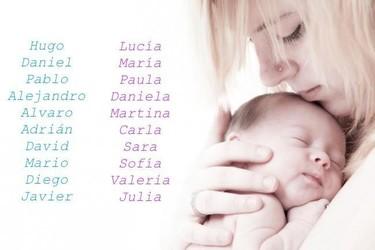 ¿Niño o niña? Los nombres de bebé más usados en España