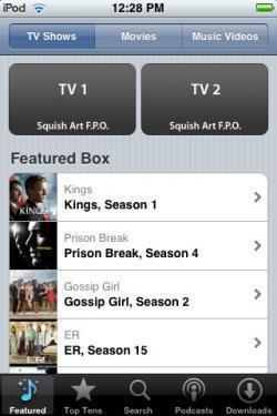 Descarga de cine y series en el iPhone en camino