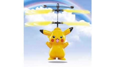 Pikachu Robot Volador