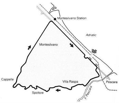 Circuitos exóticos de la Fórmula 1: Pescara