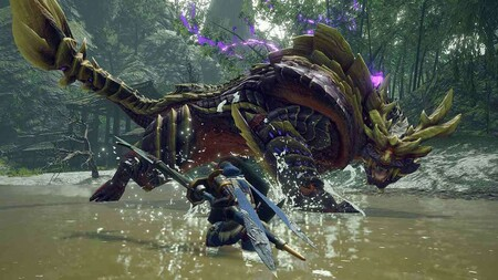 Los combates contra monstruos de Monster Hunter Rise desembarcarán en PC en 2022