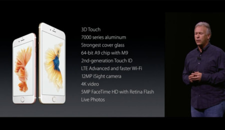 Especificaciones iPhone 6s