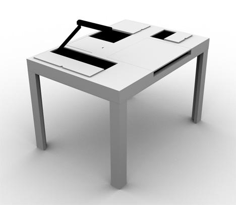 mesas para espacios pequeos