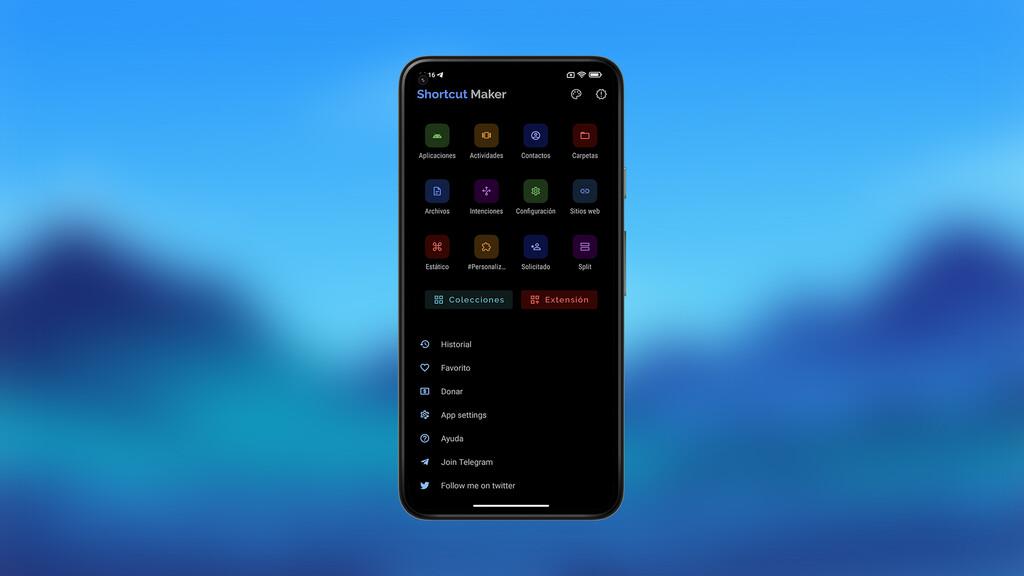Con esta aplicación podréis crear accesos directos a cualquier archivo, menú o función de tu Android