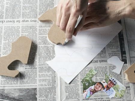 Puzzle Cut Photo