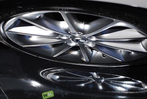 Foto de Embelezzia en la presentación mundial del Lexus CT 200h (10/24)